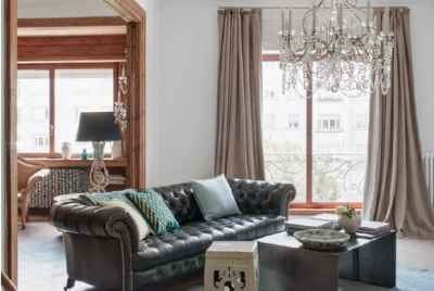 Elegant and spacious apartment in front of Turó Park in Barcelona